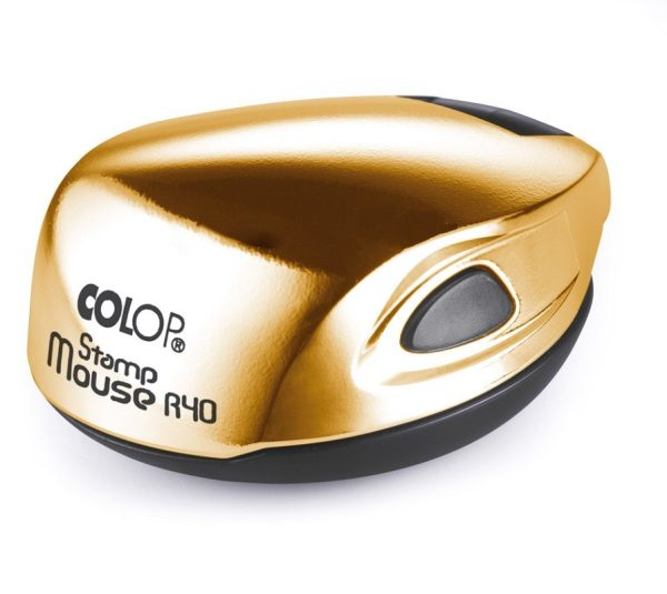 Stamp Mouse R40 gold