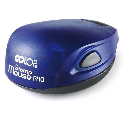 Stamp Mouse R40 indigo